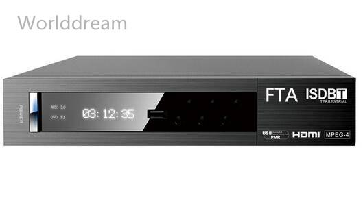 HD FTA ISDB-T Set Top Box Fully Supports ISDB-T (Brazil Standard),MPEG2,MPEG4,H264