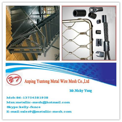 Stainless Steel Wire Rope Mesh For Sale