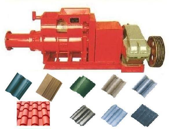 Vacuum Tile Making Machine for House Roof