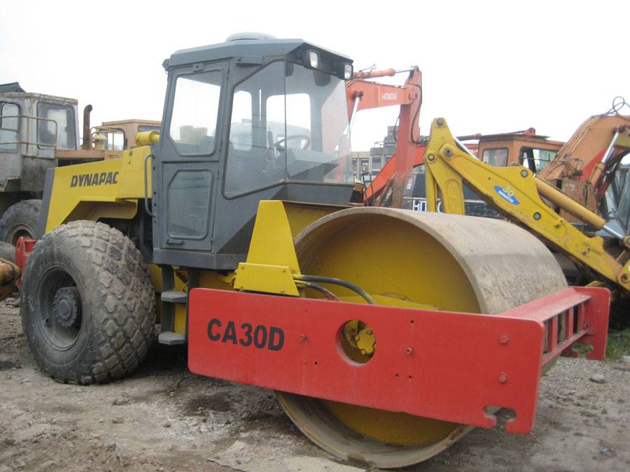 used road roller ca30