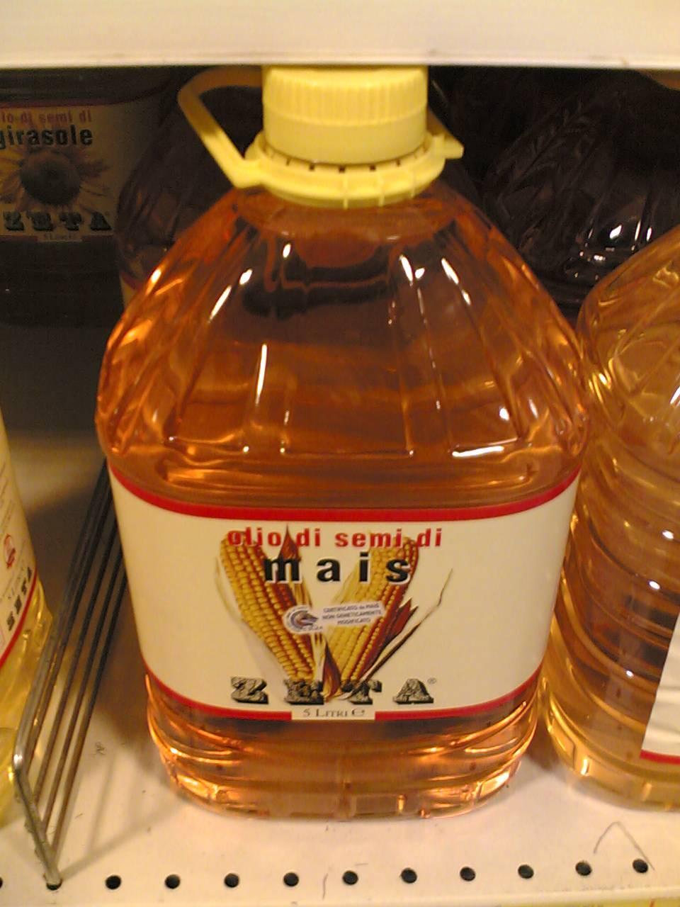 Bottled RBD Palm Oil
