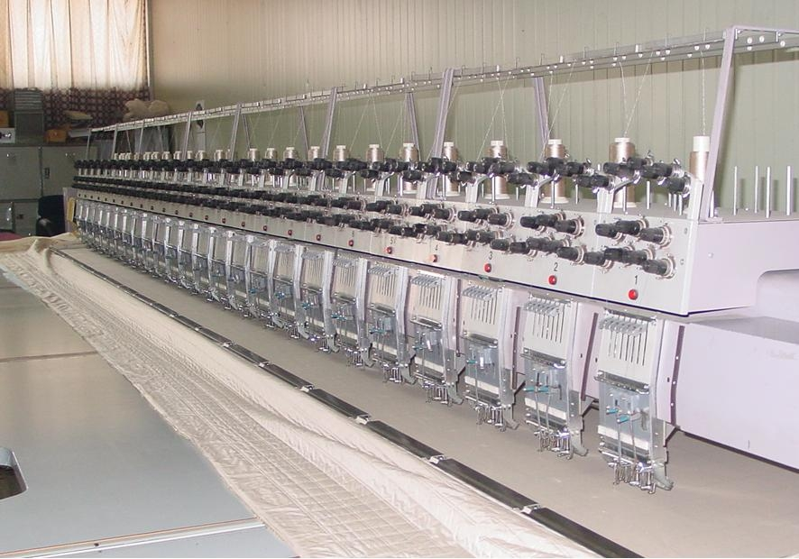 ZSK 22 head and ZSK 25 head embroidery machines for sell.