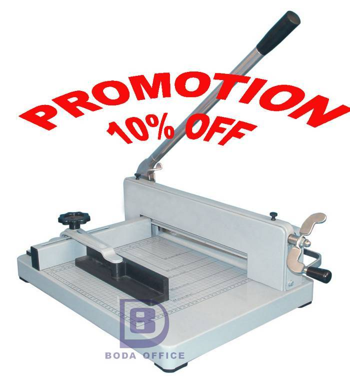 Paper cutting machine 858