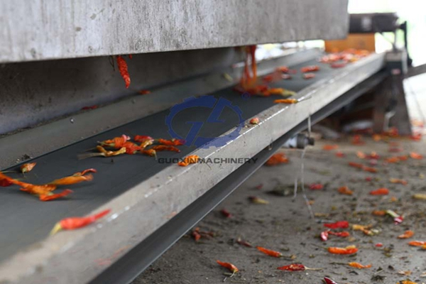 Red Chili Dryer Machine Used In Aquatic Product Industry
