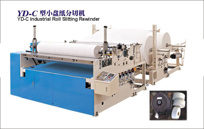 YD-C Industrial Roll Slitting Rewinder