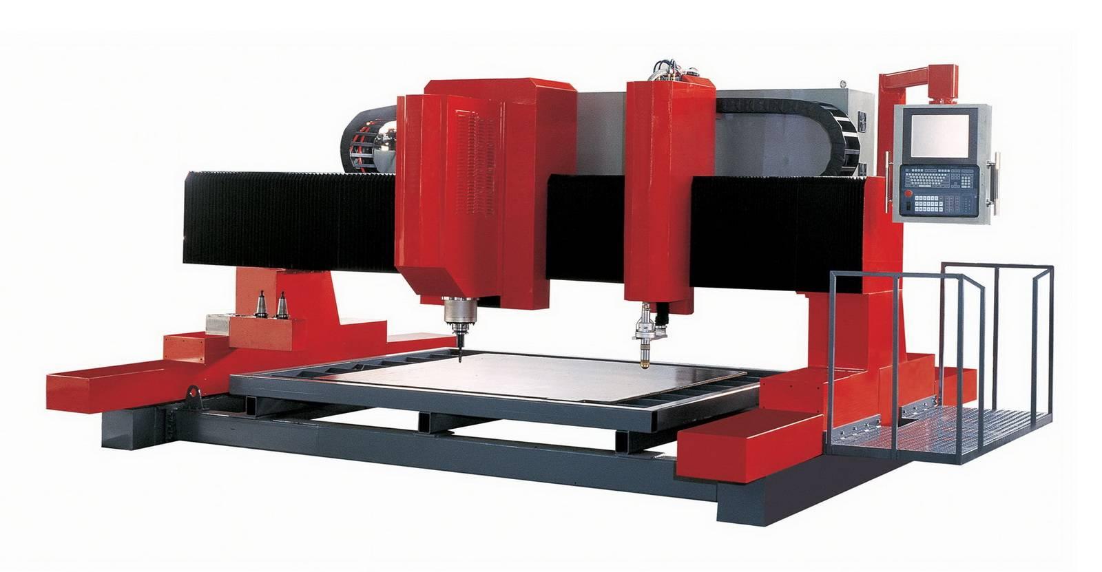 CNC Drilling Milling & Cutting Machine