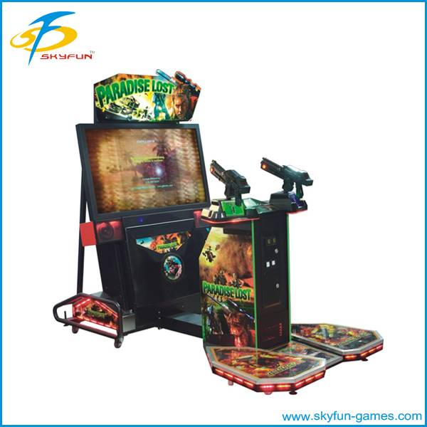 Simulator arcade amusement shooting gun machine