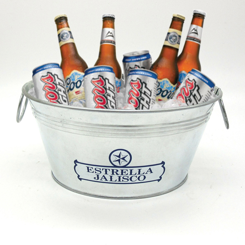 metal ice bucket for beer & drink