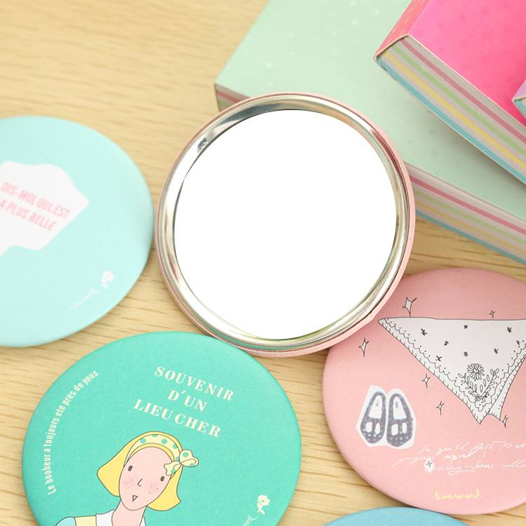 Mini cute portable mirror