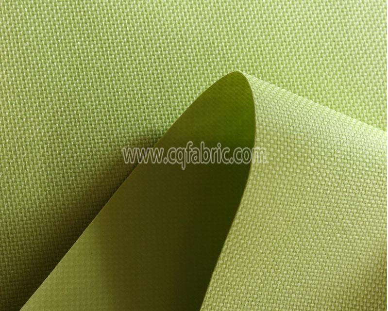 Polyester gabardine plastic dripping fabric OOF-107