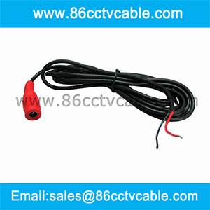 DC Power Lead for CCTV Camera Power