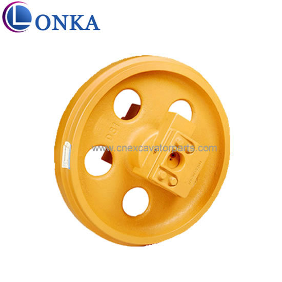 D31 excavator undercarriage spare idler assy parts
