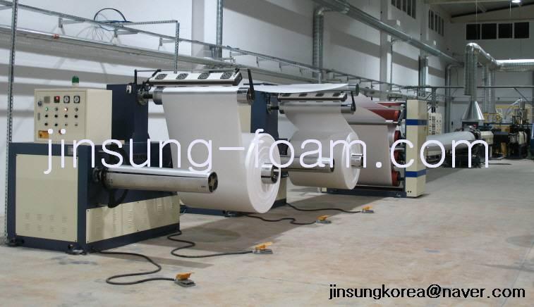Ps Foam Sheet Extruder Korea Manufacture