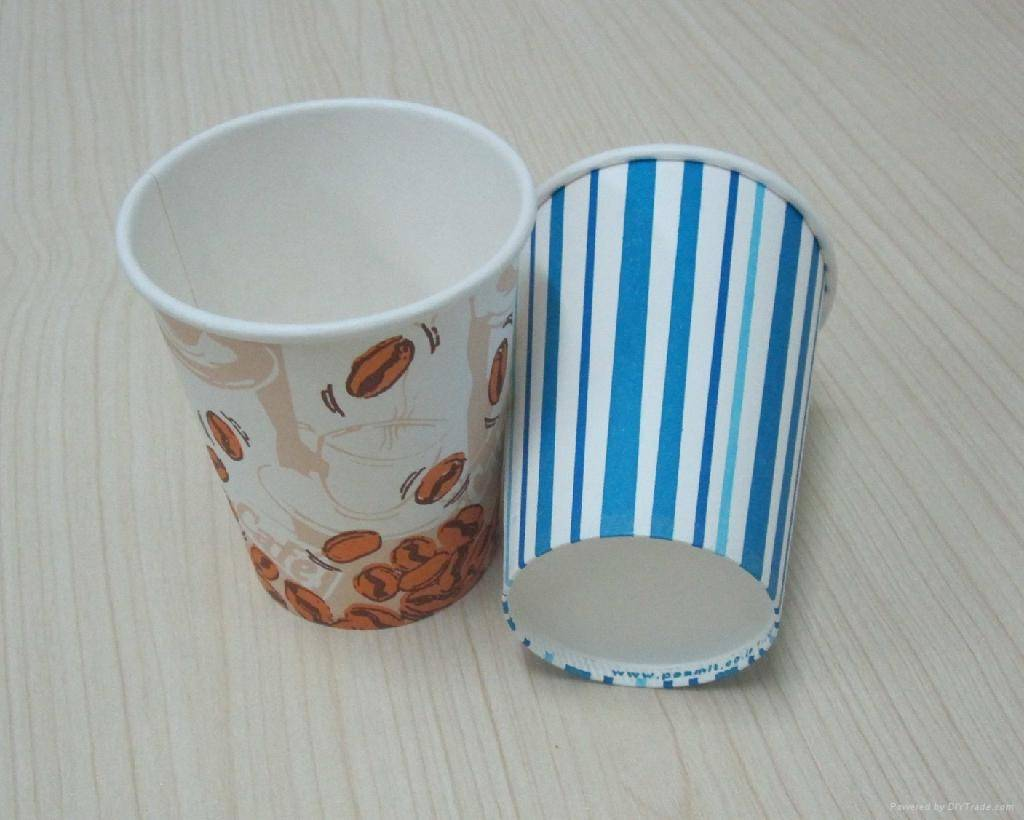 Paper cups customize available