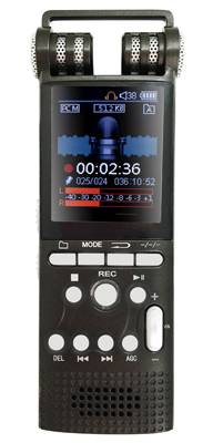 2016 new professional digital voice recorder with 1.8inch TF color screen display