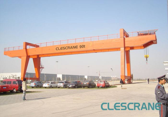 CWG Series gantry crane with the lifting capacity 5t-320t