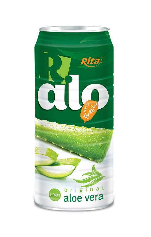 100% Fresh Aloe Vera Juice in Tin Can