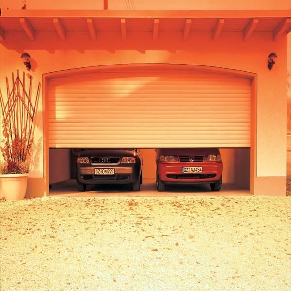 Roller garage door, roll up garage door