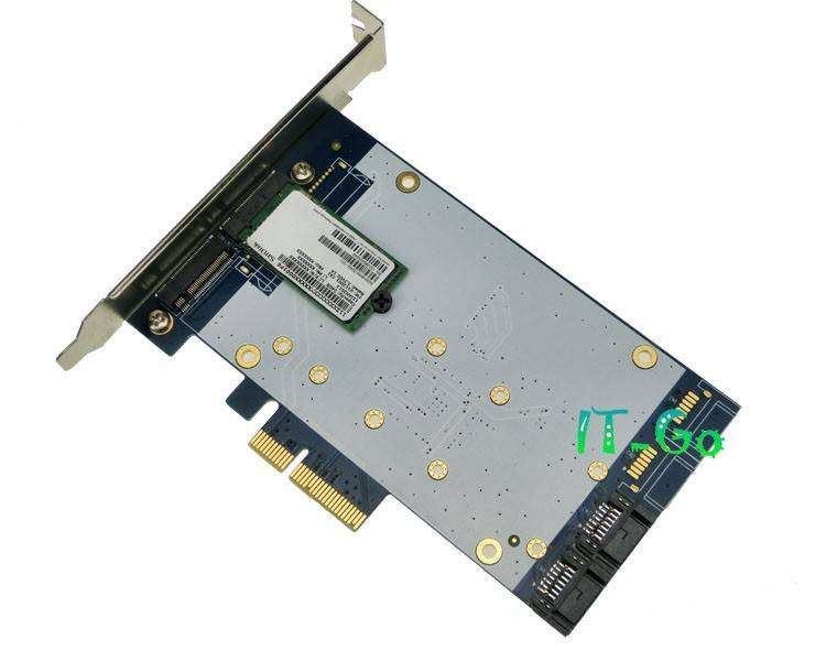 PCI express to Sata3.0+NGFF(M.2) Port Adapter PCIe to Sata3.0 Port Multiplier