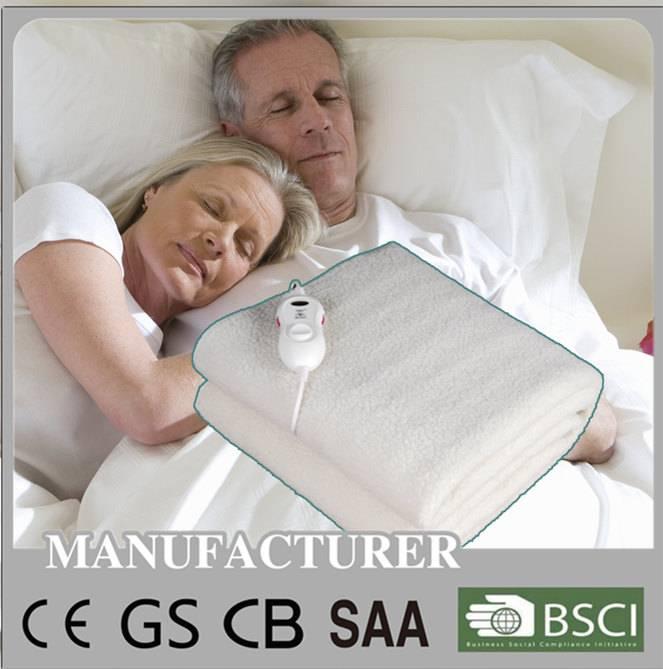 intertek single double electric blanket with CB