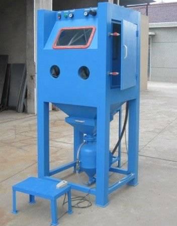 Environmentally Pressure sandblast cabinet 9080P