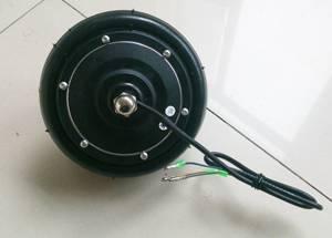 6 inch brushless gearless hub motor scooter motor