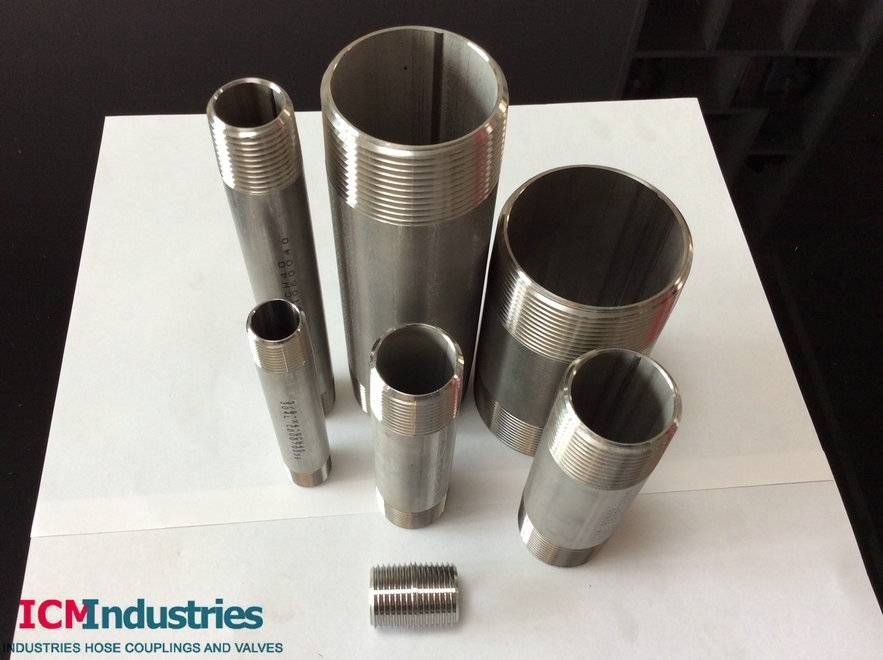 ASTM A733 Stainless steel Pipe Nipple (Barrel Nipple)