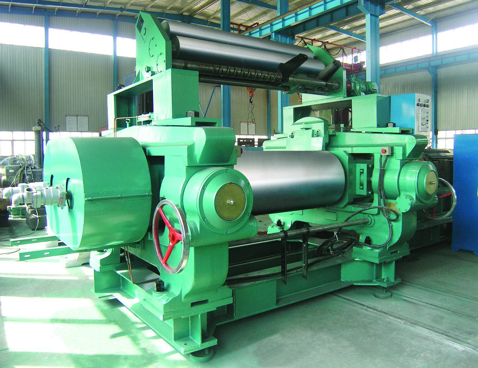tow roll rubber mixing mill