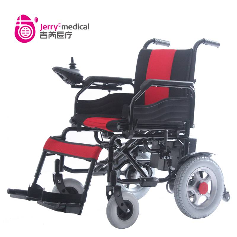 disabled electric wheelchair, power wheelchair, motorized wheelchair