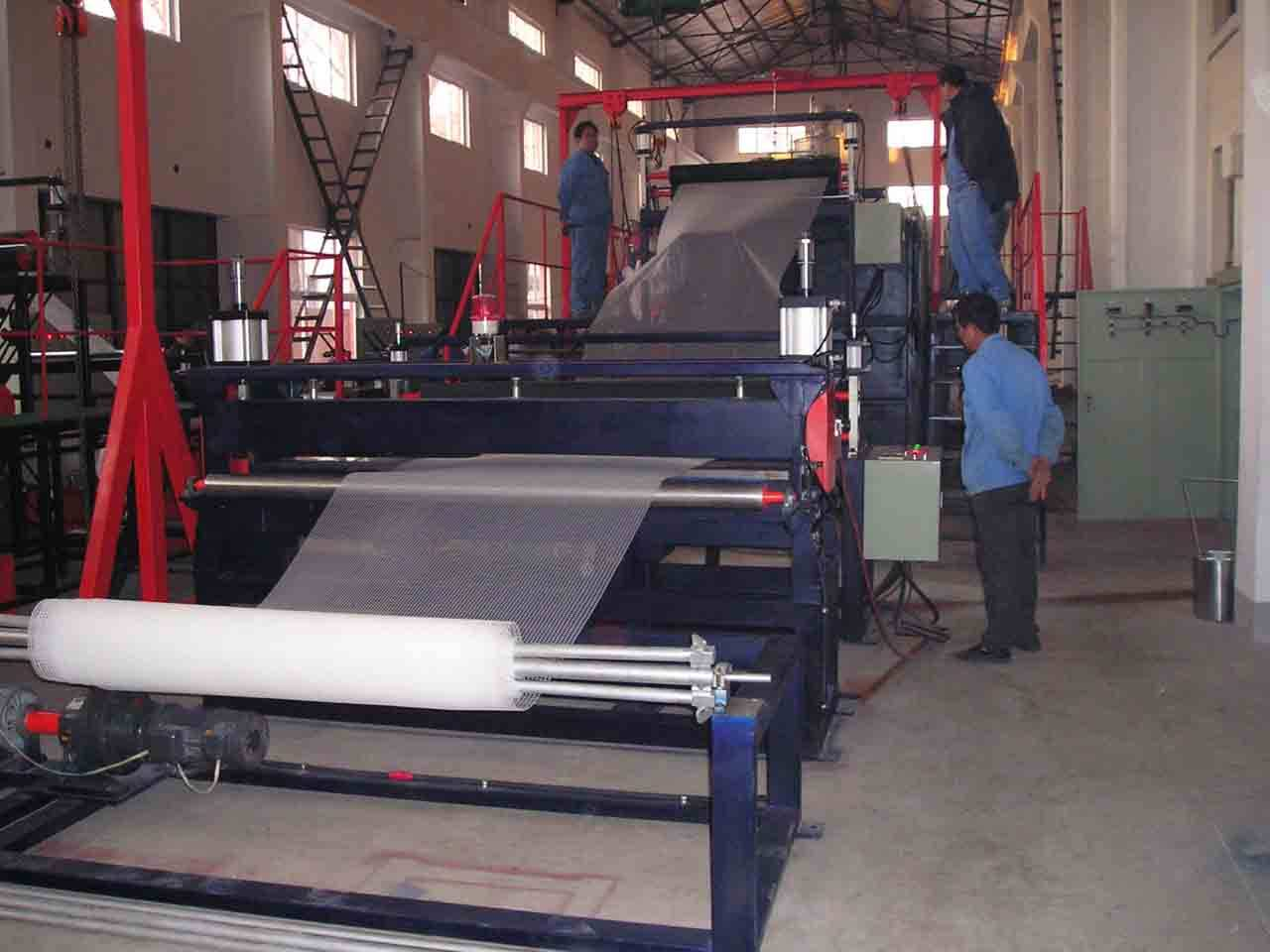 HDPE geonet machine/production line