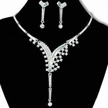 selling swarovski jewelry set JS025