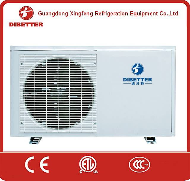 split unit ac on air source heating,heat pump efficiency