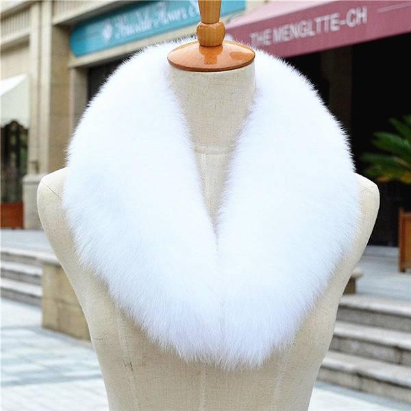 Jacket Fur Collar Fox