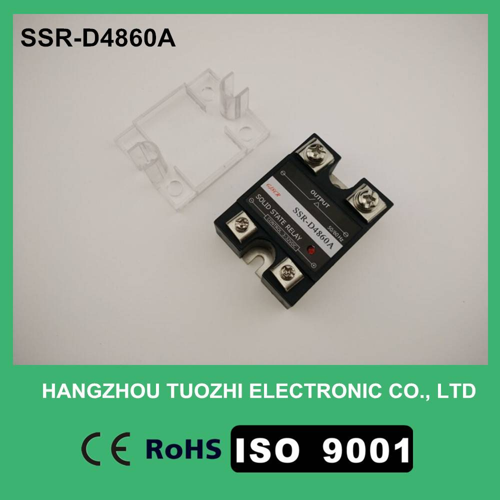 60a solid state relay input 3-32vdc output 40-480vac SSR-D4860A