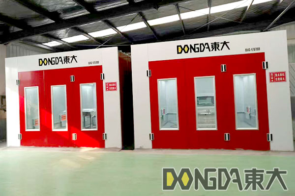 Paint booth from CHINA DDE-2
