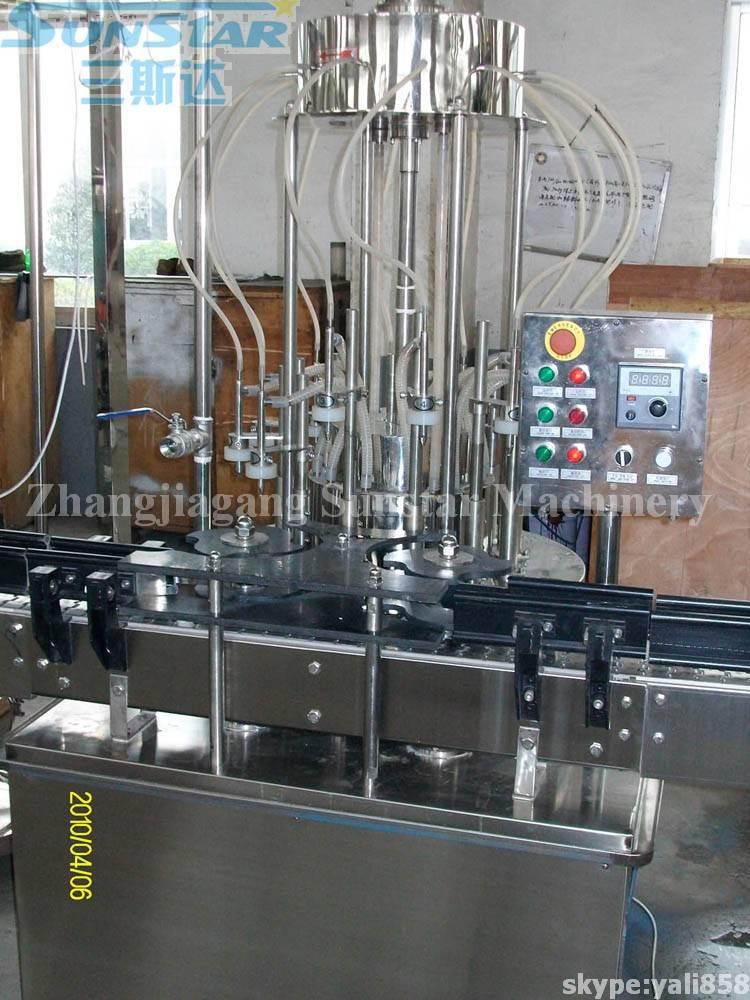 Glass Bottle Juice Tea Beverage Bottling Machine