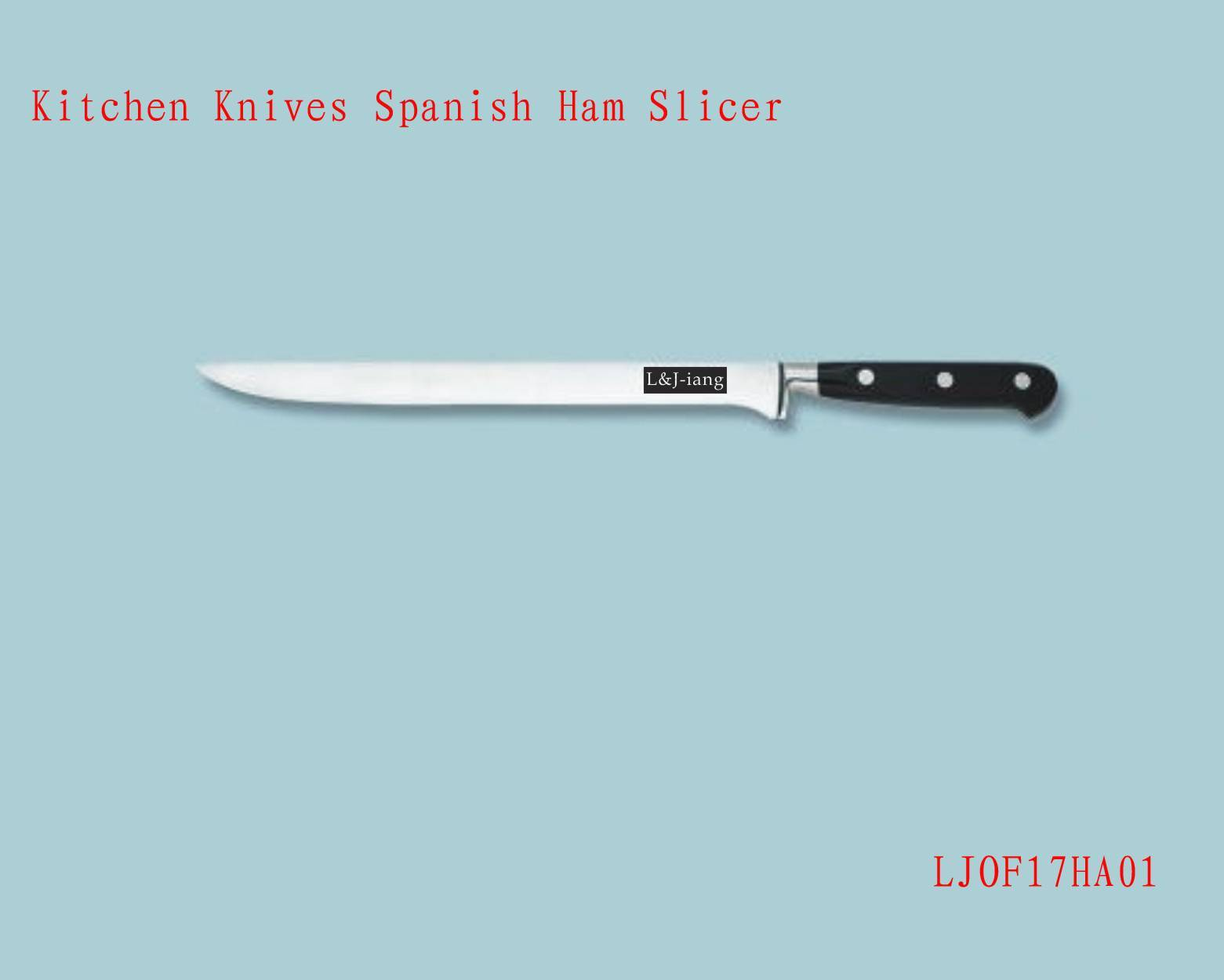Kitchen Knives Spanish Ham Slicer Knife