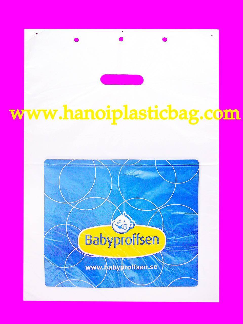 block plastic headed bag