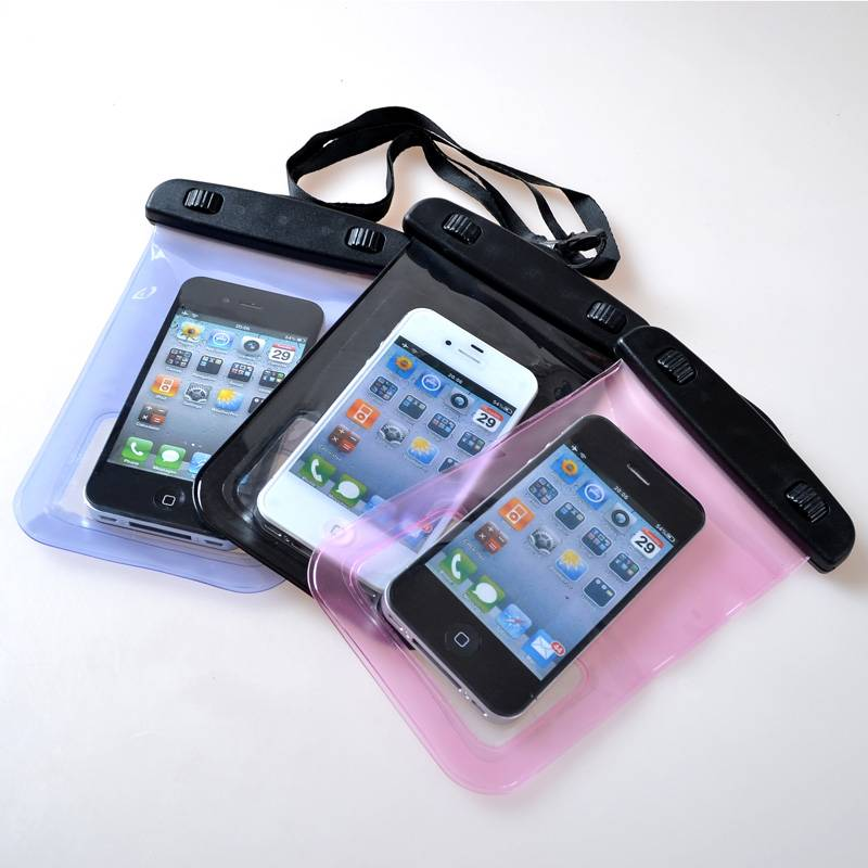 waterproof bag for most size mobile phones