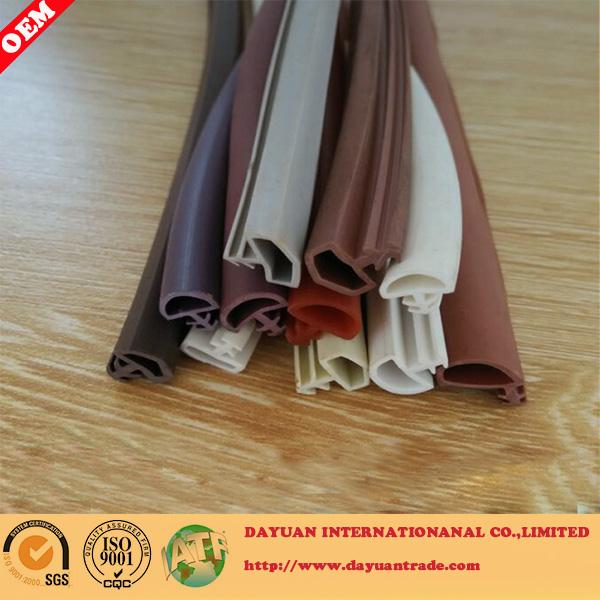 PVC rubber sealing strip/rubber gasket