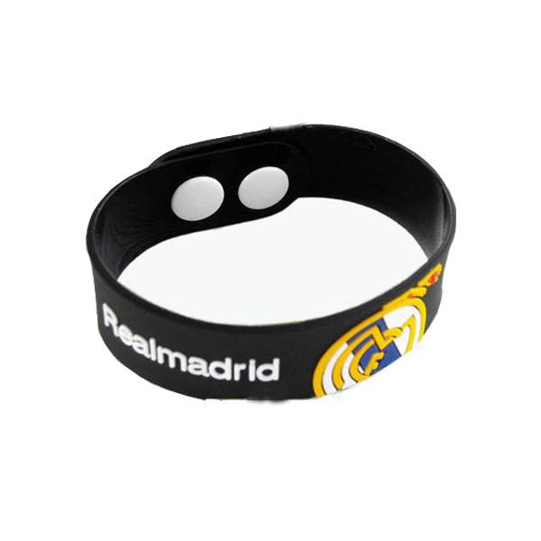 Real Madrid football team sports wristband