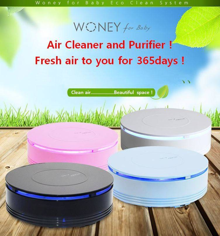Air Cleaner and Purifier(Woneyforbaby)