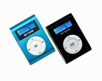Shuffle shape MP3 with FM function