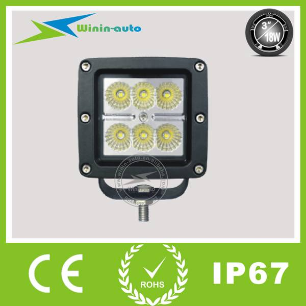 3 18W Cree LED Work light for 1400 Lumens WI3181