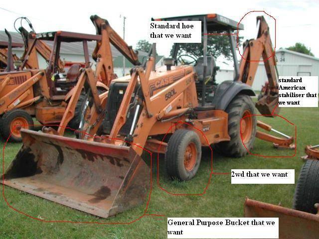 Looking For Backhoe CASE 580, JCB, And John Deere  Buyer