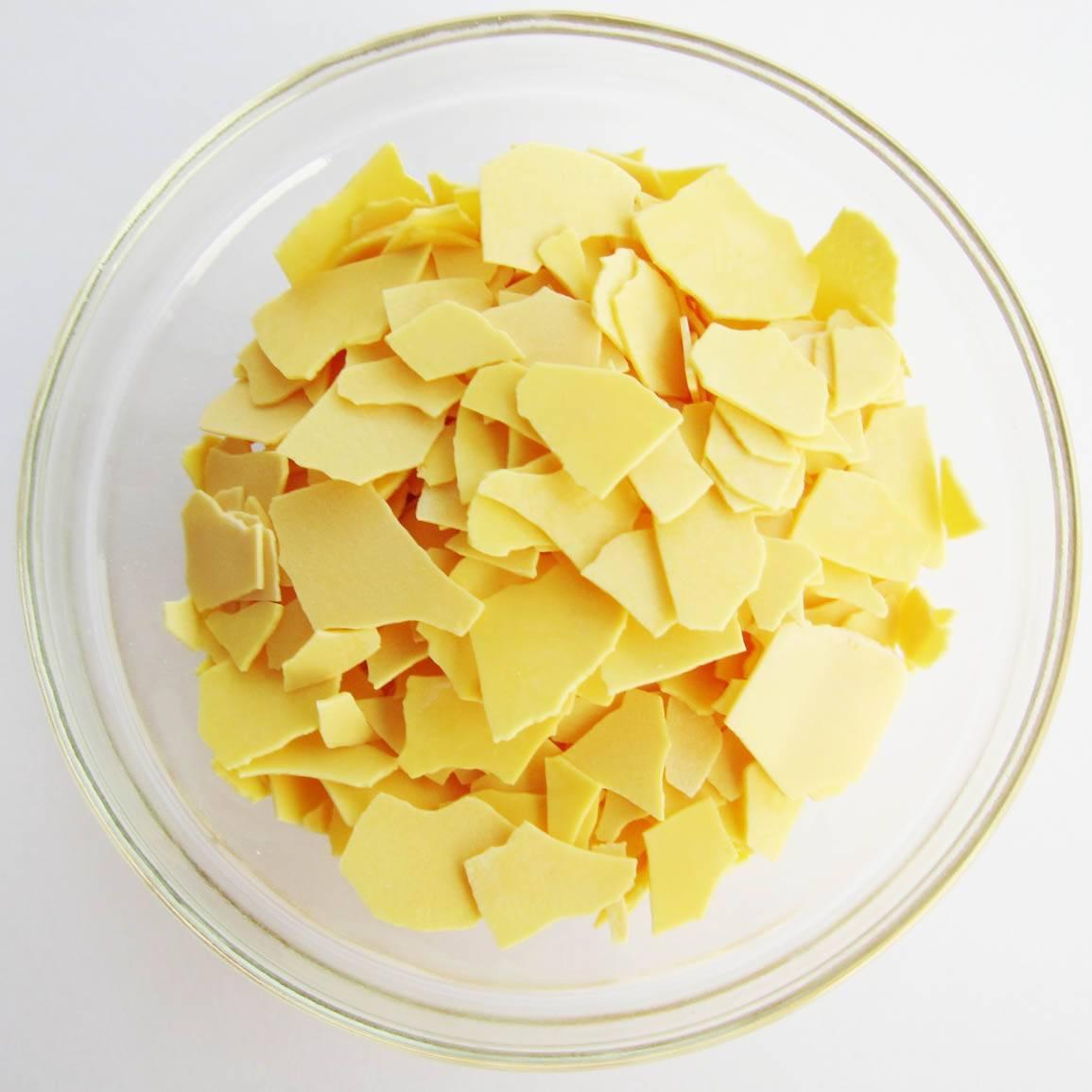 Yellow flakes 60% sodium sulphide