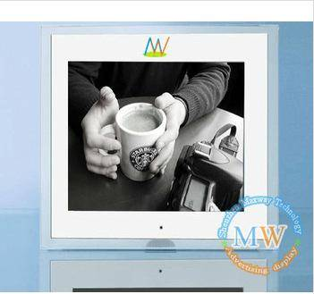10.4 inch digital photo frame for counter advertising