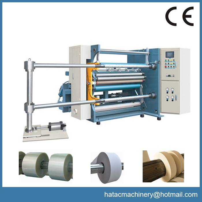 High Speed Paper Slitting and Rewinding Machine