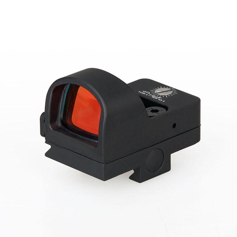 China OEM 1x22 high precision optic military tactical reflex riflescopes red dot sight scope