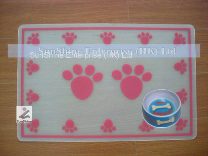 supply plastic PP products table mat